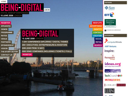 Being-Digital website