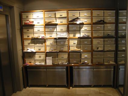 Zara Home - shoe display