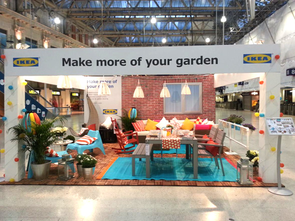ikea popup liverpool street station