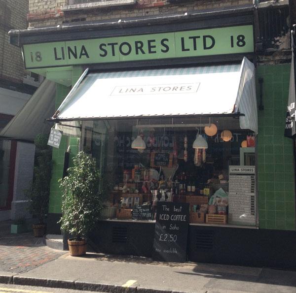 lina stores shopfront