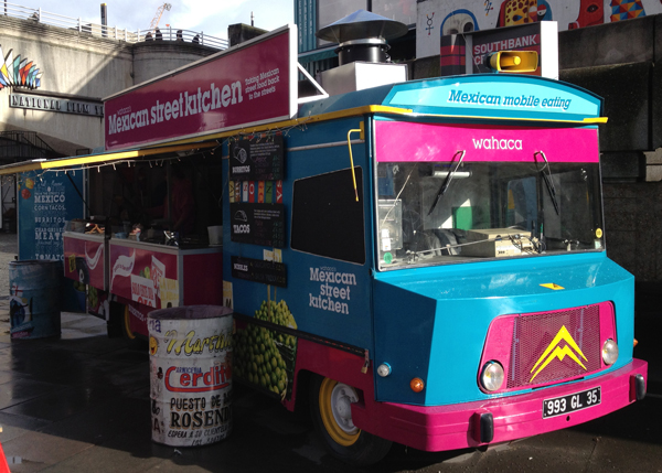 Wahaca Food Truck, Southbank London